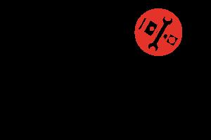 Das Logo von BWL bhkw technik mit Bildmarke eines Kolben und Schraubenschlüssel
