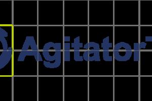 Raster von dem AgitatorTec Logo